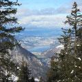 Blick gegen Horw und Luzern