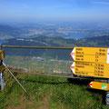 Buochserhorn - Blick zum Bürgenstock und Luzern