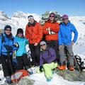 Im Gipfelglück: Richi - Barbara - Herbert - Hildegard - Monika - Paul