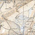 Kartenausschnitt um 1900