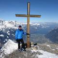 Richi auf dem Gipfel