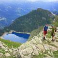 Tiefblick zum Lago Tremorgio