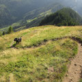Abstieg gegen Ober Loegg