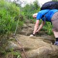 Gsäss-Weg mit Kletterstellen