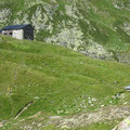 Terrihütte und Alphütte