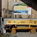 Letzte Pause bei der Alp Arnischwand