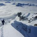 Weitblick aus dem Gipfelgrat