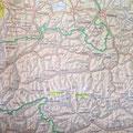 Kartenausschnitt Hohe Tauern