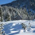 Anfangs Dezember 2019 gab es leider erst mässigen Schneefall oberhalb rund 800m.