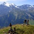 Blick von der Schonegg zum Titlis - Reissend Nollen - Wendenstöcke ++