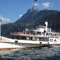Auf dem Seeweg nach Luzern