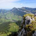 Gipfelblick gegen Flühli, Schafmatt, Grönflue, Fürstein