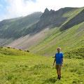 Auf dem Abstieg Richtung Arniseeli