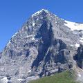 Eiger und Eigernordwand von der Kleinen Scheidegg