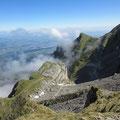 Rückblick zum Chastelendossen - Klimsen - Luzern