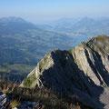 Giswilerstock mit Weitblick zum Pilatus und Vierwaldstättersee