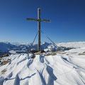 Hagleren mit Gipfelkreuz
