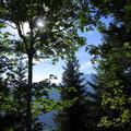 Znünihalt auf dem Guberntossen bei brillanter Beleuchtung