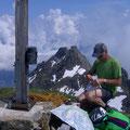 Gipfelrast auf dem Jakobiger