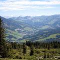 Sicht auf Sörenberg