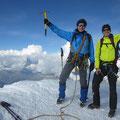 Richi und Kari im Gipfelglück