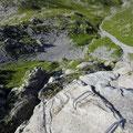 Klettersteig Rigidalstockwand