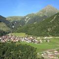 Curaglia - Sicht vom Hotel Cuntera