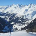 Tiefblick nach Airolo - Bedrettotal - Gotthardgebiet