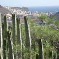 Blick auf die Hauptstadt von La Gomera: San Sebastian