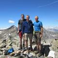 Kari - Richi - Hans im Gipfelglück