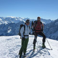 Helen & Heiri auf dem Gipfel