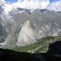 Der riesige Bergsturz vom Jahr 1991