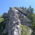 Über den Südgrat zum Tomlishorn