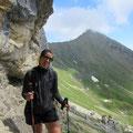 Am Fuss der Widderfeldostwand entlang.....