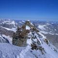 Der Italiener-Gipfel, 4'476 m