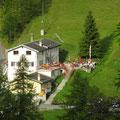 Das gemütliche Berggasthaus Zwischbergen / Bord.