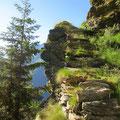 Spannende Alpwege mit erkennbarem Tessiner Handwerk