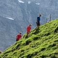 Wandern in einer monumentalen Hochgebirgslandschaft