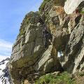 Luftige Kletterstellen