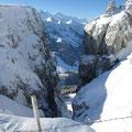 Impossanter Blick vom Böli zu den Berner Alpen....