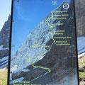 Die Route der Erstbesteiger