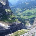Da unten floss einst der Obere Grindelwaldgletscher