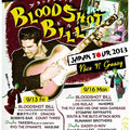 BLOODSHOT BILL JAPAN TOUR フライヤー