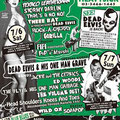 DEAD ELVIS JAPAN TOUR フライヤー