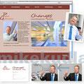 CI-Konzept, Fotografie, HP-Gestaltung, pgutmann-changes.com