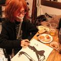 私も一枚ゲット! 石井さんにサインをしていただきました。