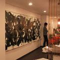 土へ還る(花々)1.4×4.1   2011