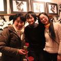 左より花ちゃん、道工真理さん、フリーダム主婦(!?)の佐藤宏子さんからもお声をいただきました。