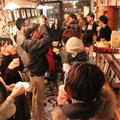 20名を越えるたくさんの方々が2月8日の夜7時にholo holoへと集まってきました。