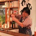 holo holoますたぁ,山本さんがお祝いシャンパンをオープン!!